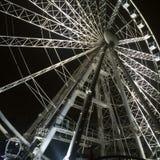Elizabeth Square Ferris Wheel, Budapest Hungria fotografia de stock