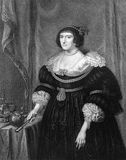 Elizabeth Stuart, regina della Boemia Fotografia Stock