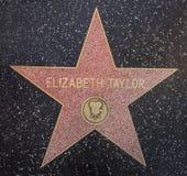 Elizabeth Taylor gwiazda zdjęcie stock
