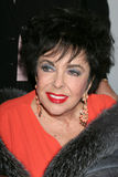Elizabeth Taylor. LOS ANGELES - DEC 1:  Elizabeth Taylor arriving at the 'Love Letters' Play Performance at Paramount Theater on December 1, 2007 in Los Angeles Royalty Free Stock Image