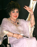 Elizabeth Taylor. Macy's / American Express Passport 06 - AIDS Benefit Barker Hanger Santa Monica, CA September  29, 2006 2006 Kathy Hutchins / Hutchins Photo Royalty Free Stock Image