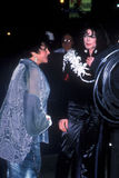 Elizabeth Taylor, Michael Jackson Stock Photography