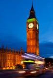 Elizabeth Tower al crepuscolo fotografia stock