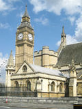 Elizabeth Tower al palazzo di Westminster a Londra - immagine di riserva Immagini Stock
