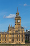 Elizabeth Tower, Big Ben Closeup Stock Photography