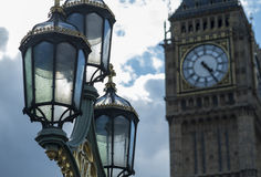 Elizabeth Tower and Big Ben Royalty Free Stock Photography