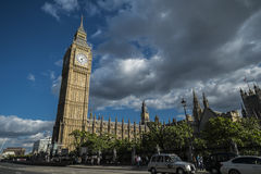 Elizabeth Tower and Big Ben Stock Photography