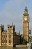 Elizabeth Tower, Big Ben en Londres Imágenes de archivo libres de regalías