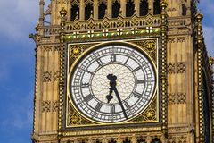 Elizabeth Tower Clock Face Royalty Free Stock Photos