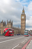 The Elizabeth Tower, known as Big Ben in London Stock Photo