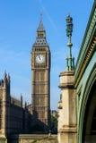 Elizabeth Tower in Londen, het UK Stock Afbeeldingen