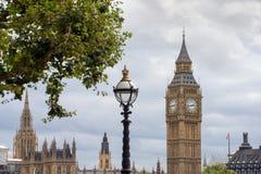 Elizabeth Tower in London, United Kingdom. Stock Photos