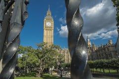 Elizabeth Tower und Big Ben Stockfoto