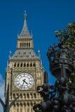 Elizabeth Tower y Big Ben Imagen de archivo libre de regalías