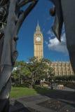 Elizabeth Tower y Big Ben Foto de archivo