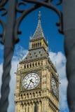 Elizabeth Tower y Big Ben Imágenes de archivo libres de regalías
