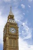 Elizabeth wierza, dom Big Ben Obrazy Royalty Free