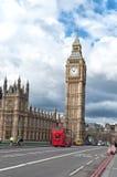 Elizabeth wierza, znać jako Big Ben w Londyn Obrazy Royalty Free