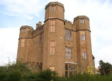 Elizabethaans kasteel, Kenilworth, Engeland Stock Afbeelding