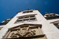 Elizabethaans rijtjeshuis Stock Foto