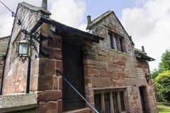 Elizabethaans Schoolgebouw in St Marys, Onder- Alderley-Parochiekerk in Cheshire Royalty-vrije Stock Fotografie