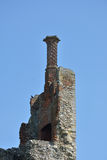 Elizabethan Chimney on castle Royalty Free Stock Images