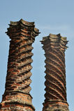 Elizabethan chimneys Royalty Free Stock Photos
