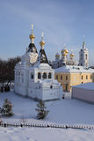 The Elizabethan Church in Dmitrov's kremlin. Stock Image