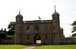 Elizabethan Gate house at Charlecote Park Stock Photography
