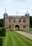Elizabethan Gate house at Charlecote Park Stock Image