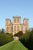 Elizabethan Hall. Long view of Elizabethan Hall from Formal Garden Royalty Free Stock Photo