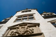 Elizabethan town house Stock Photo