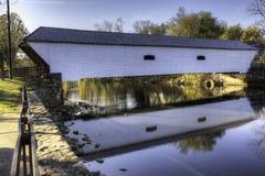 Elizabethton Zakrywał most w Tennessee zdjęcia royalty free