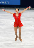 Elizaveta TUKTAMYSHEVA (RUS) free program Stock Photography