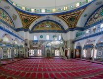 ElJazzar清真寺白色清真寺在英亩Akko 库存照片