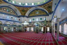 ElJazzar清真寺白色清真寺在英亩Akko 库存图片