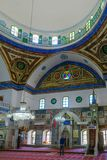 ElJazzar清真寺白色清真寺在英亩Akko 免版税库存照片