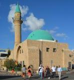 ElJazzar清真寺 免版税图库摄影