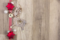 Elk as christmas decoration Stock Photography