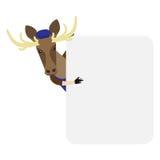 Elk banner Royalty Free Stock Images