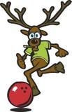 Elk bowling Stock Image
