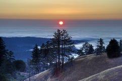 Elk Creek Sunset Stock Image