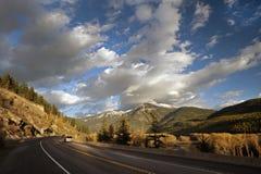 Elk River and Highway No.3 Stock Photo