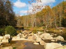 Elk River. The Elk River near Elk Park, North Carolina is the source of water for beautiful Elk River Falls Stock Images