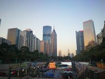 Elke dag Guangzhou stock foto