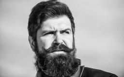Elke volledig unieke baard Investeer in modieuze verschijning Kweek het dikke van de hipsterslijtage van de baard snelle Mens geb stock afbeeldingen