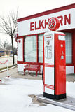 Elkhorn Garage Royalty Free Stock Photo