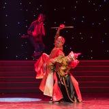 Ella danza popular aduana-china de la nacionalidad Imagenes de archivo