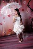 Ella es goza de la novia Imagen de archivo libre de regalías