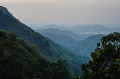 Ella Gap, Sri Lanka lizenzfreie stockbilder